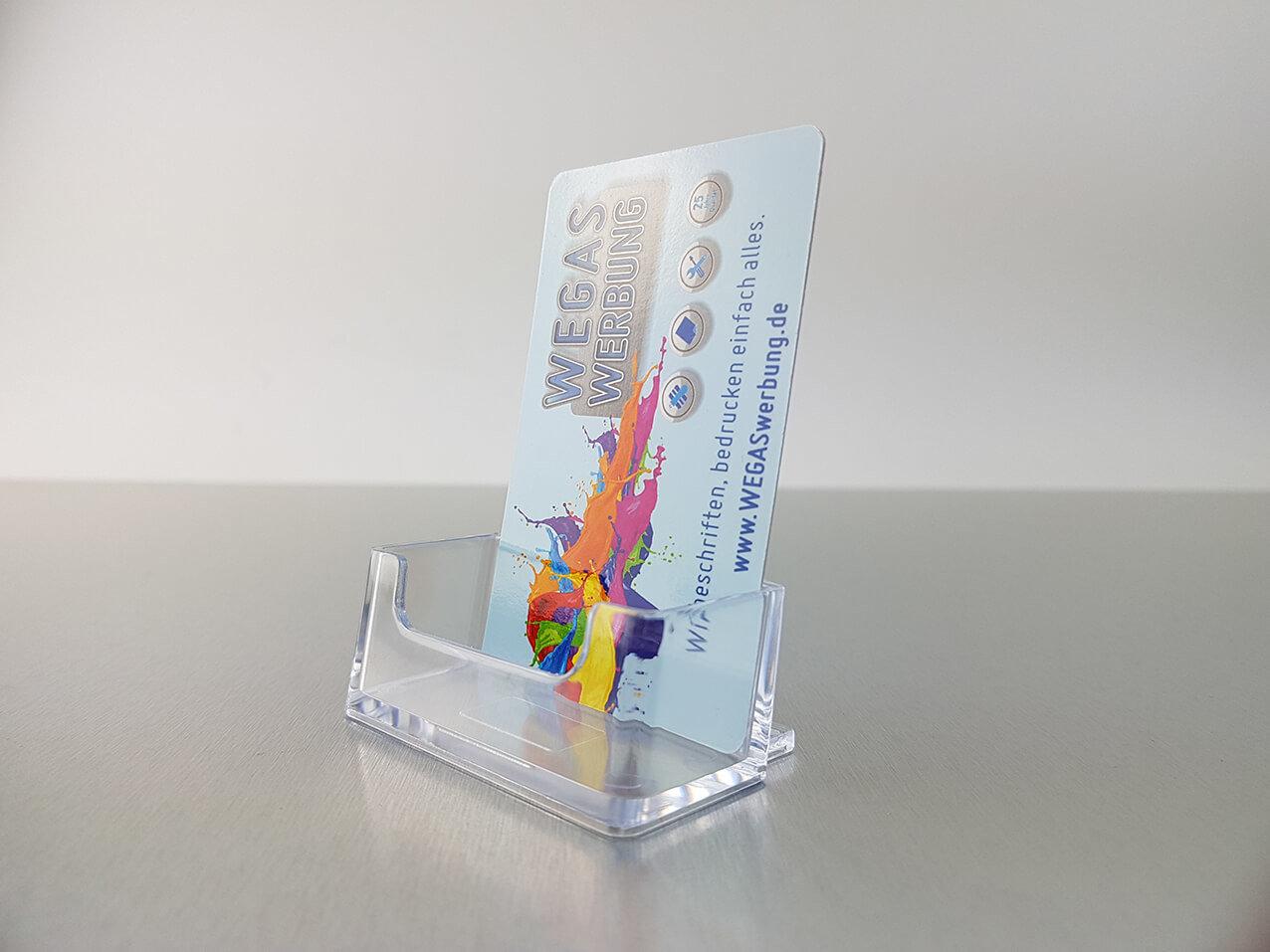 520 Visitenkartenbox Acryl 1211 Wegaswerbung