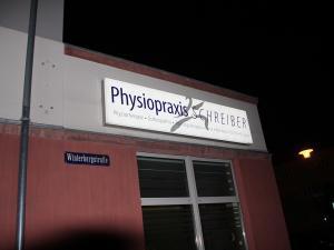 615-Leuchtkasten-Physiotherapie Schreiber