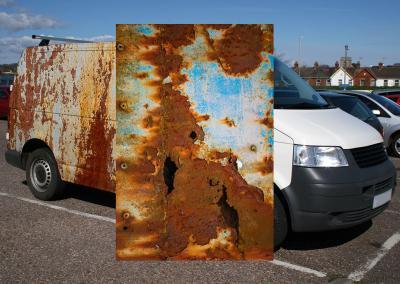 618-Autofolie-Car-Wrapping-stark-verrostet-Rostfolie