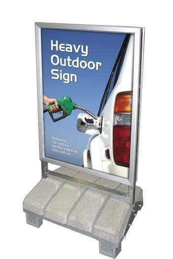 Kundenstopper Wind-Proof 137