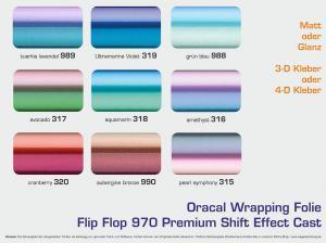 Oracal-Orafol-Folienfaecher-970-Flip-Flop-Matt-Glanz