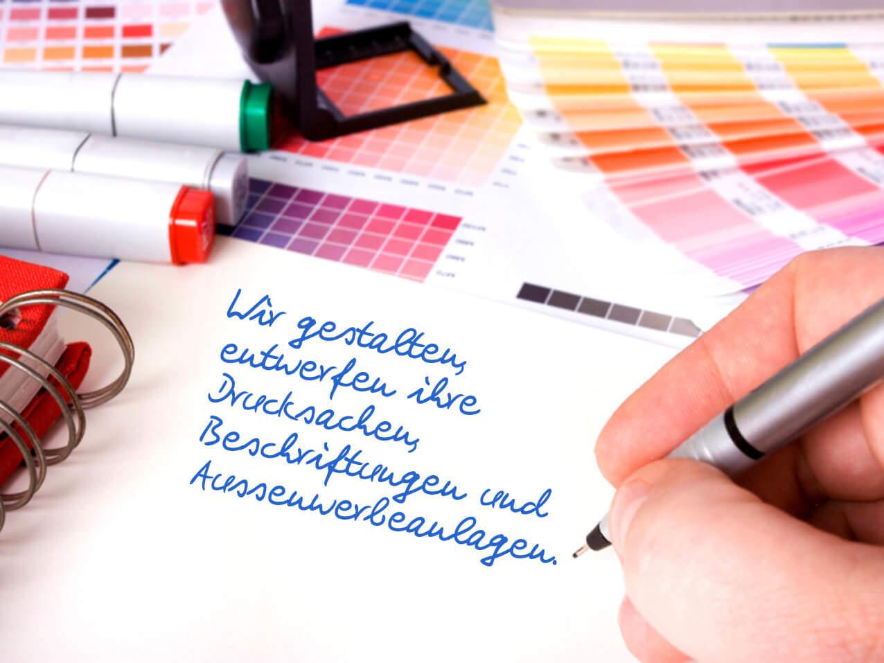 Grafik Illustration Layout Werbeagentur Dresden Wegaswerbung