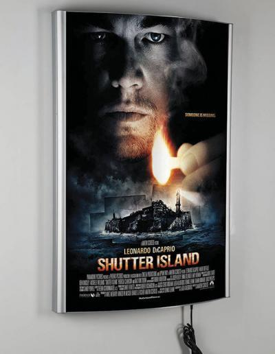 516-LED-Convex-Klapprahmen-Snap-Frame-Bilderrahmen-Kino
