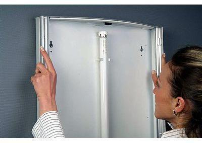 516-LED-Convex-Klapprahmen-Snap-Frame-Bilderrahmen-Leuchtbox