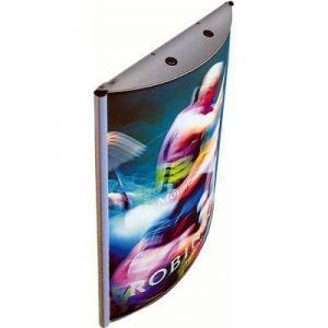 516-LED-Lightbox-Convex-Klapprahmen-Snap-Frame-Bilderrahmen-Leuchtkasten