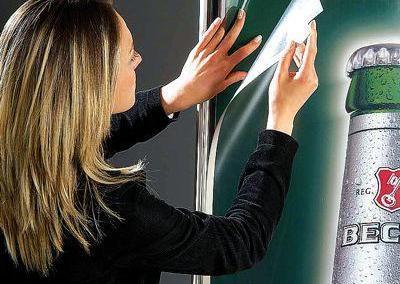 520-LED-Leuchtdisplay-Bilderrahmen-Pylon-Leuchtsaeule-Aufsteller-Elypse
