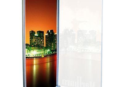 520-LED-Leuchtdisplay-Leuchtkasten-Pylon-Leuchtsaeule-Aufsteller-Elypse