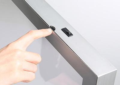 521-LED-Lichtbox-Leuchtdisplay-Pylon-Leuchtsaeule-Aufsteller