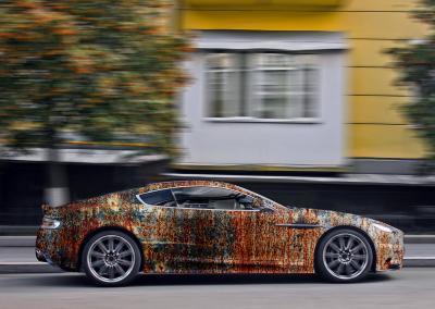 620-Autofolie-Rost-Lack-verrostet-Carwrapping-foliert-Aston Martin