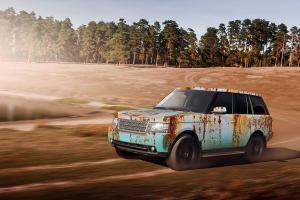 621-Autofolie-Rost-Lack-verrostet-Carwrapping-foliert-Landrover