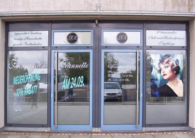 623-Fensterbeschriftung-Neueroeffnung-Friseursalon-Dresden