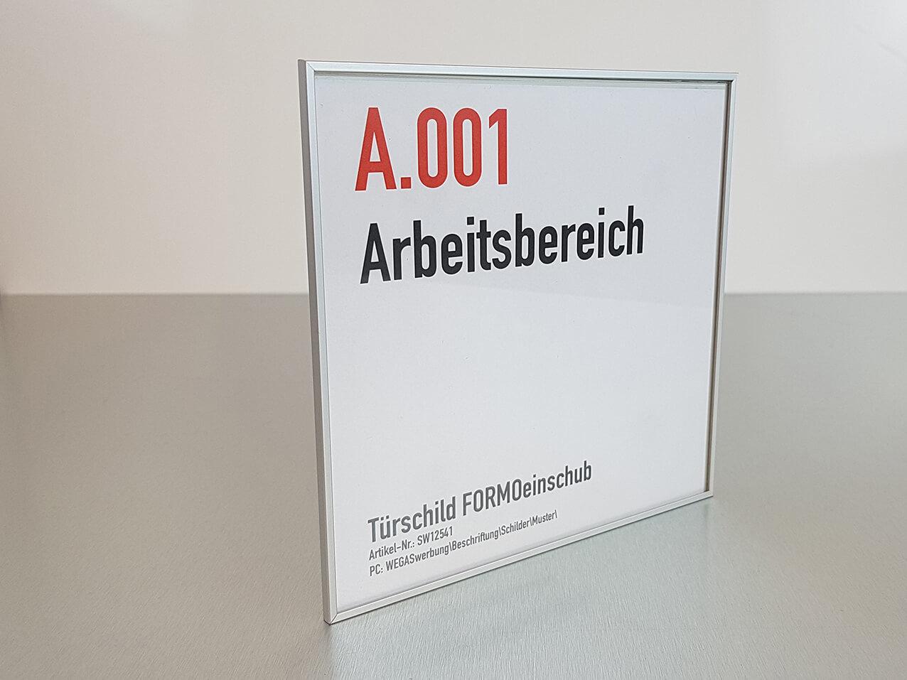 628-Tuerschild-Formoeinschub-Aluminium-Rohrprofil
