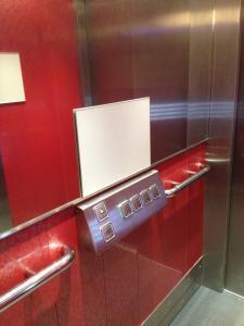 Schilder System-Tuerschild-Infoschild-flach-Fahrstuhl
