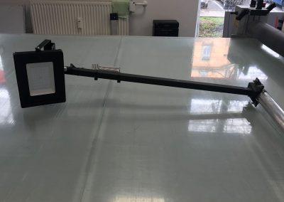 634-Bauschild-Strahler-Beleuchtung-Ausleger-Arm