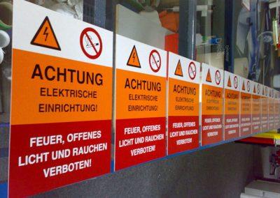Siebdruck-Aufkleber-Schilder-bedrucken-drucken-Dresden