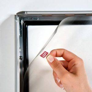 226-Waterproof-Frame-25mm-Klapprahmen-Snap Frame-Bilderrahmen wechsel