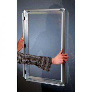 242-Klapprahmen Fenster doppel snap-frame-montage