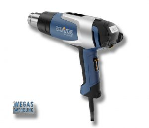 Z65105-Heissluftpistole-elektronischer-Regler-LCD-Anzeige-Steinel-Carwrapping-Master