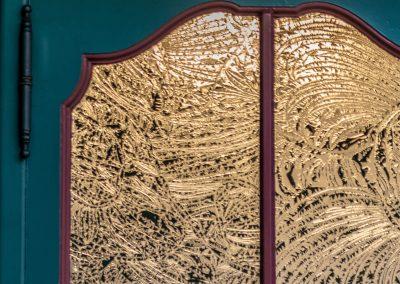 647-Sandstrahlfolie-Schablonenfolie-Fenster-Jugendstilmotiv-geaetzt-sandstrahlen