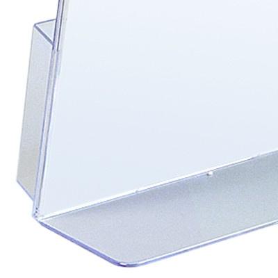 1220-L-Tischschild-Tischaufsteller-Acryl-Flyer
