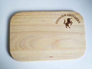 Schneidebrett-Brettchen-Holz-Kueche-Werbemittel-Logo-Spruch-Gravur
