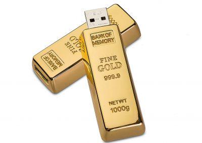 USB-Stick-Gold-Barren-Werbemittel-Gravur