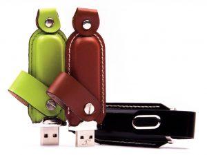 USB-Stick-Leder-Werbemittel-Werbeeindruck