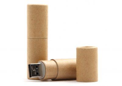USB Stick Oekologisch-Werbemittel-Gravur