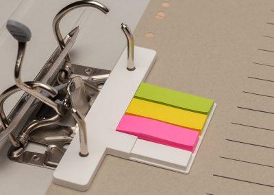 USB-Stick-Orga-Flash-Note-Werbemittel-Klebezettel-Neonfarbe