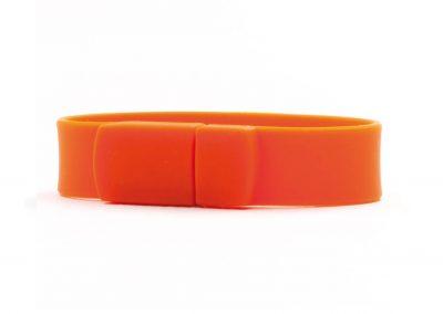 USB-Stick-Power-Ring-orange-elektronisches-Werbeartikel