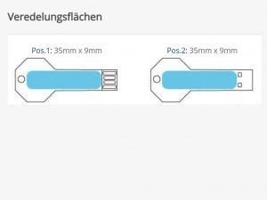 USB-Stick-Schluessel-Close-Metall-Werbemittel-Werbeaufdruck-Veredelung-Gravur