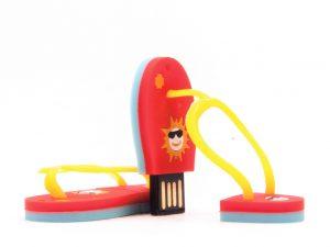 USB-Stick-USB Stick FlipFlop-Schuhe-Werbemittel-Geschenk