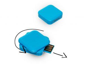 USB-Stick-USB Stick Turn Rubby-Werbemittel-Geschenk