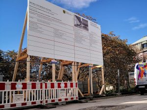 658-Bauschild-Holzgestell-Vermietung-Dresden-Montage-bundesweit