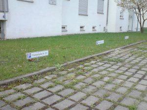 454-Privatparkplatz -Kennzeichen
