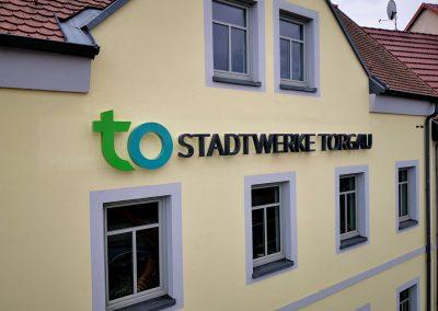469-Leuchtreklame-Stadtwerke-Torgau-Rueckstrahler-Profil 3