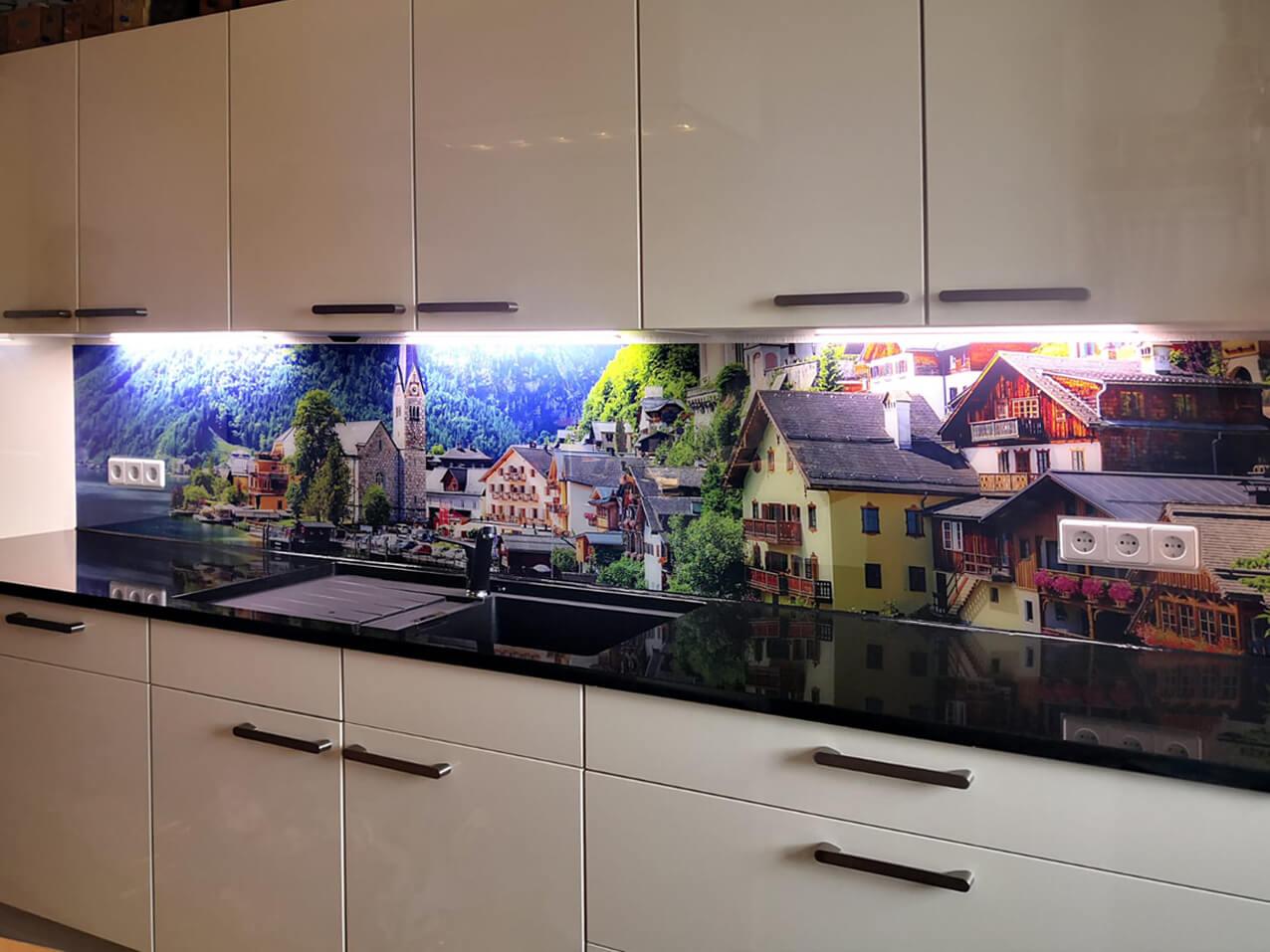Wandbilder Kunstbilder Fotodruck Küchenrückwand Bilderdruck