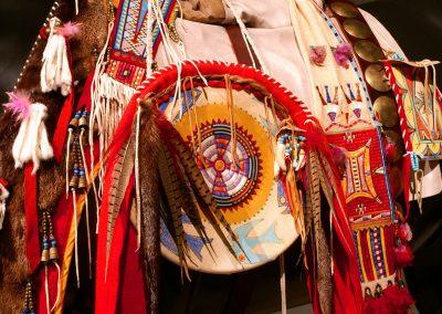 Indianer-Schmuck-Touristen-Souvenir-Handarbeit-Job
