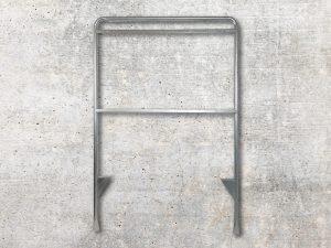 Maklerschild-Aufsteller-Gestell-Stahl-verzinkt-Verkaufsschild