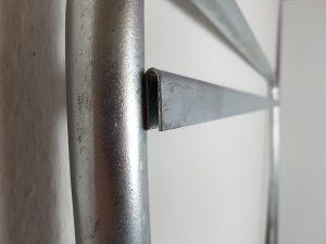 Maklerschild-Aufsteller-Gestell-Stahl-verzinkt-Verkaufsschild-Aufnahme