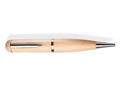USB-Pen-Kugelschreiber-Stick-Holz-Ahorn-Werbemittel-Gravur