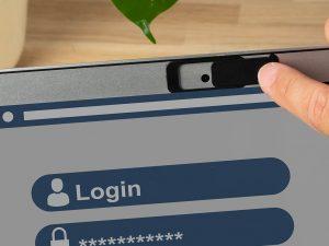 Webcam-Spionage-Schutz-Sicherheit-Werbemittel-Werbeaufdruck