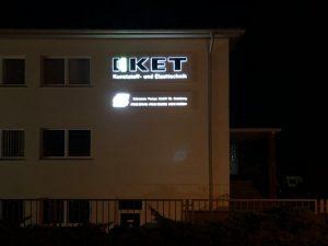 609-Leuchtkasten-dekupiert-LED-Leuchtbuchstaben-KET Kunststoff- und Elasttechnik