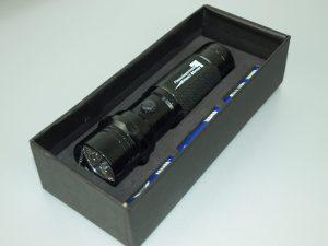 LED-Taschenlampe-Metall-Powerlicht-Streuartikel-Werbegeschenk
