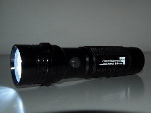 LED-Taschenlampe-Metall-Powerlicht-Werbeaufdruck