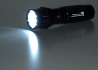 LED-Taschenlampe-Metall-Powerlicht-Werbeaufdruck-Giveawy