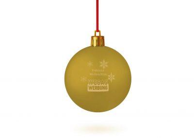 Weihnachstkugel-gold-bedrucken-Weihnachtsbaum-Schmuck-Werbedruck