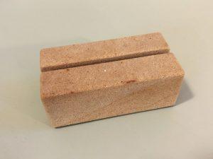 Kartenhalter-Sandsteinblock-Visitenkarten-Kuvert-Zettel-Box-Halter