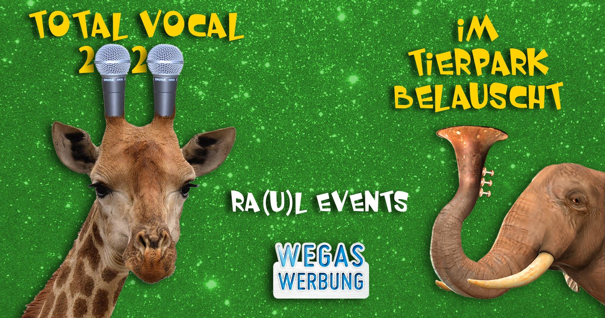 Raul Party Total Vocal 2020 Scheune Dresden Flyer