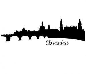 Stadt_0001 Dresden_Wandtattoo